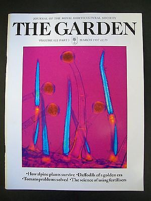 The Royal Horticultural Society. The Garden Magazine. March, 1997. VGC.