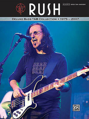 Rush Bass Guitar Collection - Tab Book Geddy Lee *new*