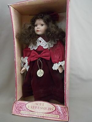 Soft Expressions~Porcelain Doll * Certificate Included