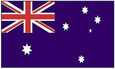 Large 3' x 5' High Quality 100% Polyester Australian Flag - Free Shipping