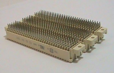 3 each Premium Harting 02021601201 Backplane to Daughtercard Connector
