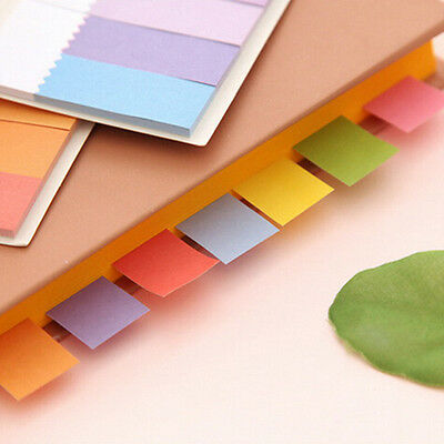 Hot Rainbow Sticker Bookmark Marker Flags Index Tab Sticky Notes JNFO