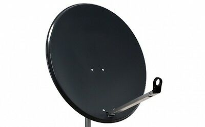 80CM High Quality Solid Satellite Dish & Fittings Hotbird Astra NC+ Sky Freesat