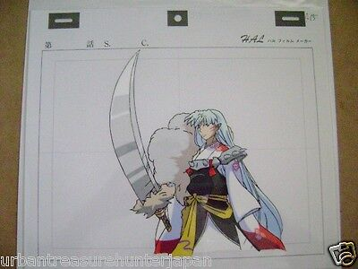 Inuyasha Sesshoumaru Rumiko Takahashi Anime Production Cel 3
