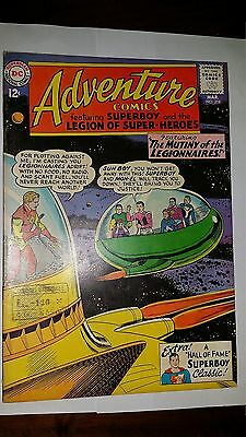 Adventure Comics #318 1963 Fine/very Fine 7 Conditions Dc Comics