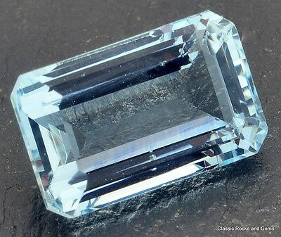 Aquamarine Gemstone Aquamarin Edelstein Aquamarina 2,40 ct