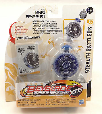 Beyblade Extreme Top System XTS Stealth Battlers Tempo Hammer Hit  X202