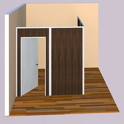 "Multi-Color Sunwalls Modular walls 2 walled ""L"" room of standard walls 10x10"