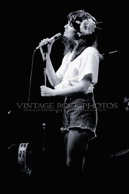 Linda Ronstadt Photo Poster 12x18 in Vintage '70s Live Concert from 35mm neg 15