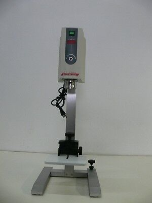 Kinematica Polytron PT-MR 3100 Homoginizer / Mixer W/ Stand and Holder 1600 rpm