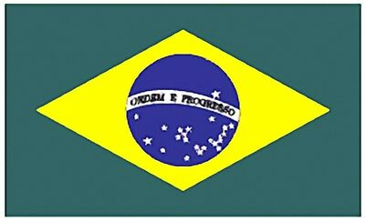 Large 3' x 5' High Quality 100% Polyester Brazil Flag - Free Shipping