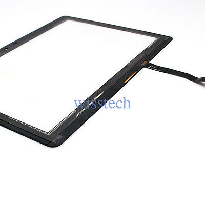 """Touch Screen Digitizer Glass For Samsung Galaxy Tablet  GT-P7500 10.1"""" Black"""