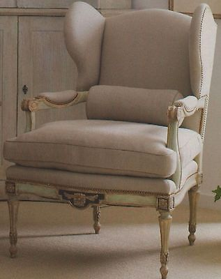 EXQUISITE-Old World Belgian Linen Upholstery&Drapery Fabric $200YD- TEMP SALE!