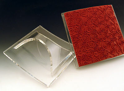 Mega Mount Cover A Card Unmounted Rubber Stamps Block Impression Obsession New