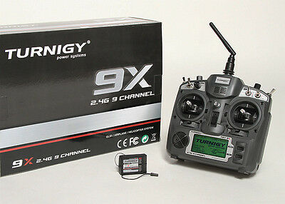RC Turnigy 9X 9Ch Transmitter w/ Module & 8ch Receiver (Mode 1) (v2 Firmware)