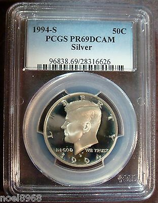 1994-S SILVER PROOF PCGS-69 DEEP CAMEO KENNEDY HALF DOLLAR * SHIPPING DISCOUNTS!