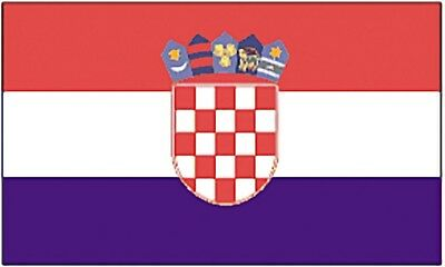 Large 3' x 5' High Quality 100% Polyester Croatia Flag - Free Shipping