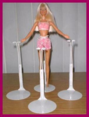 3 New KAISER Doll Stands for Modern SKIPPER & Bratz