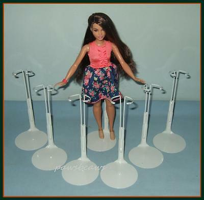 """FREE U.S. SHIPPING 6 Kaiser Doll Stands for 1958 IDEAL 12"""" SHIRLEY TEMPLE"""