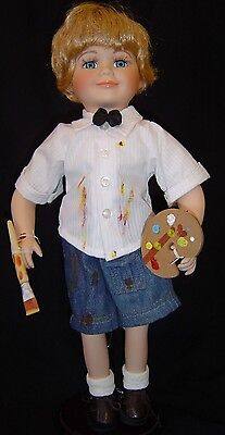 """PORCELAIN BOY DOLL """"Tyler"""" from Heritage Signature"""