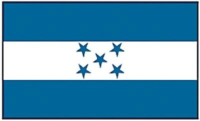 Large 3' x 5' High Quality 100% Polyester Honduras Flag - Free Shipping