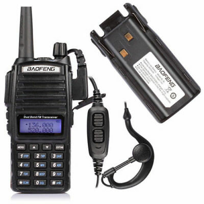 Baofeng UV-82L VHF/UHF 136-174/4​​00-520MHz Two-way Radio Walkie Talkie+Batterie