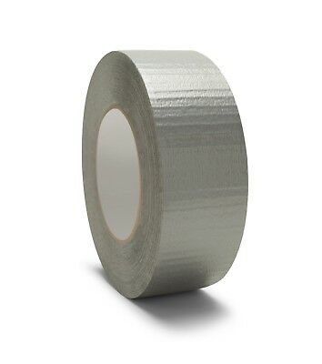 "Silver Duct Tape 2"" x 60 Yards 9 Mil Thick Box Shipping Tapes (24 Rolls ) -OSTK"