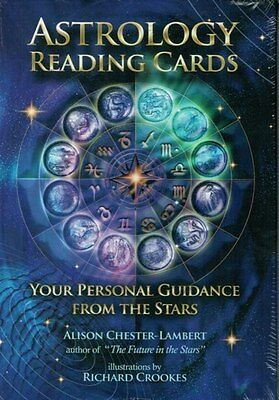 Astrology Reading Cards by Alison Chester-Lambert NEW & Sealed