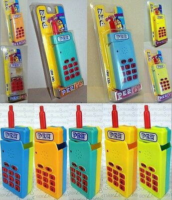 """PEZ - Interactive CANDY-PHONE - 6 different, print """"PEZ"""" - Please select !!!"""