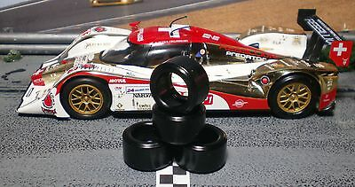 """XPG"" URETHANE SLOT CAR TIRES 2pr XPG-20125LM fits Slot.it Lola LMP"