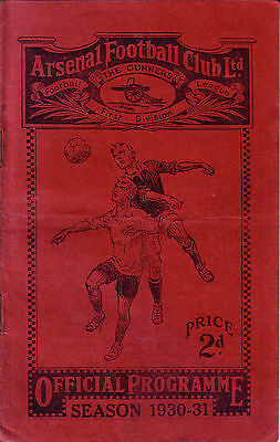 Arsenal v. Bolton Wanderers 2/5/1931 Championship Issue - Arsenal's 1st Lge Win