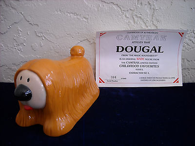 Wade Camtraks Dougal Figurine with Certificate of Authenticity