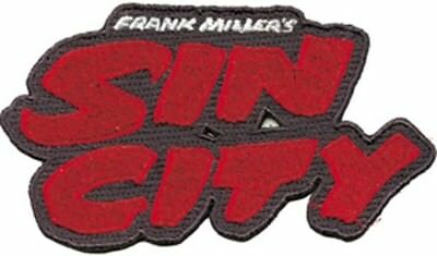 Frank Miller's Sin City Name Logo Embroidered Patch, NEW UNUSED