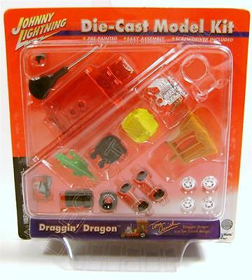 DRAGGING DRAGGIN DRAGON DIECAST MODEL KIT JOHNNY LIGHTNING JL ULTRA RARE
