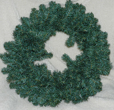 """NICE 22"""" ARTIFICIAL PINE WREATH! READY TO DECORATE!! CHRISTMAS!!"""