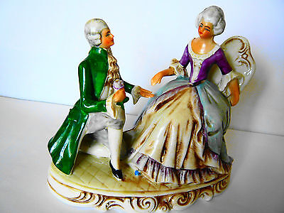 ANTIQUE GERMANY Figurine No 20724 Lady and Gentleman