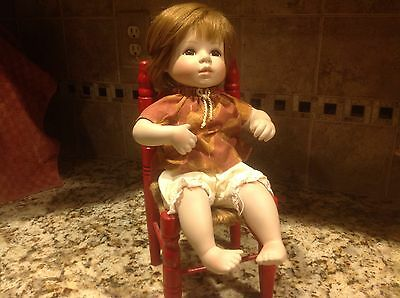 Seymour Mann Little Girl On Chair--Signed (Juith * Tie ?)  # 77 /1200--
