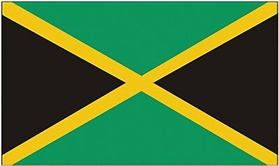 Large 3' x 5' High Quality 100% Polyester Jamaica Flag - Free Shipping