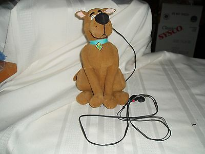 Electronic Talking Scooby Doo with headphones by Equality- WONDERFUL Please Read