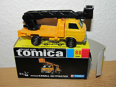 Tomica Tomy No. 88 Nissan Caball Skymaster, MINT Boxed!
