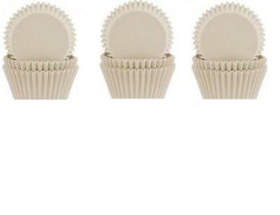 300 White Disposable Cup Cake Fairy Cupcake Cases Party Decorating Cases