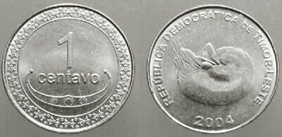 Timor 2004 1 Centavo Uncirculated (KM1)