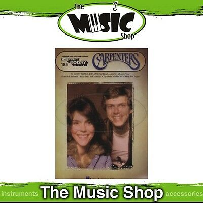 New EZ Play #185 The Carpenters Piano Music Book - Easy Play