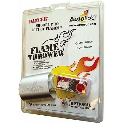 Dual Exhaust Flame Thrower Kit 12