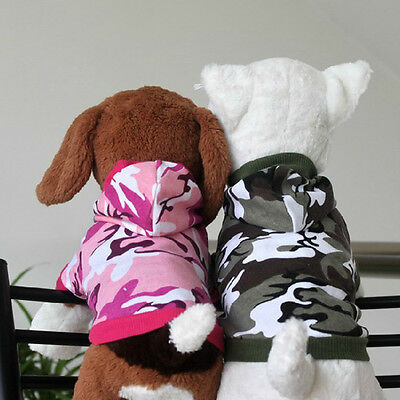 Hooded Dog Fashion Clothes Autumn & Winter Pet  clothing Pet Outfit Coat & 5 US