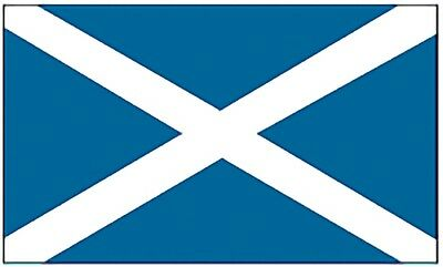 Large 3' x 5' High Quality 100% Polyester Scotland Flag - Free Shipping