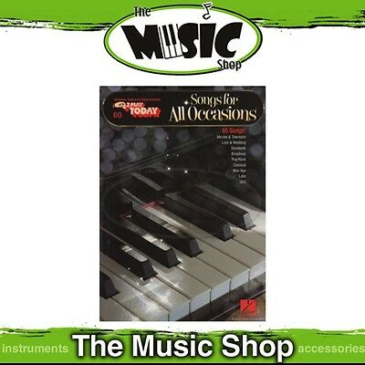 New EZ Play #60 Songs for All Occasions Piano Music Book - Easy Play