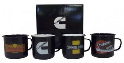 Genuine Cummins Mugs. Set Of 4. Introductory Price (Gpi01114)