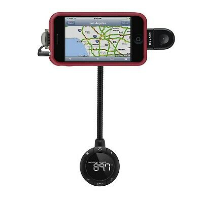 Belkin Tunebase Fm Handsfree Transmitter For Iphone 3Gs 4 4S Ipod Touch F8Z441