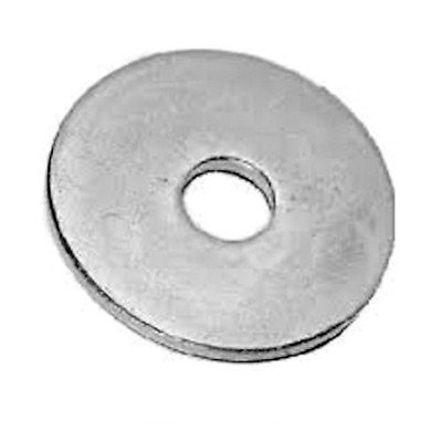 M6 x 25mm MUD GUARD REPAIR PENNY WASHERS A2 STAINLESS STEEL - 6mm